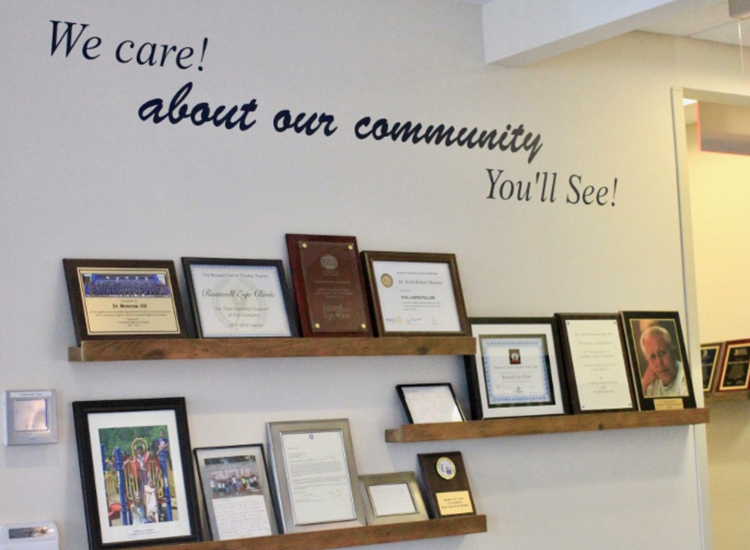 We care! about our community... You'll see!
